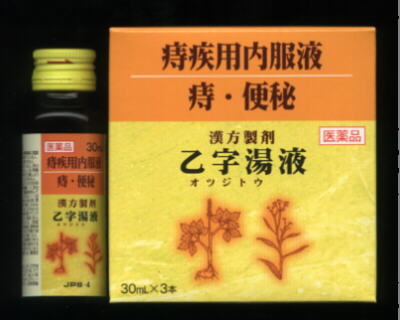 漢方製剤 乙字湯 液