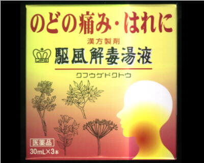 漢方製剤 駆風解毒湯 液