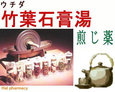 ウチダ 竹葉石膏湯 煎じ薬