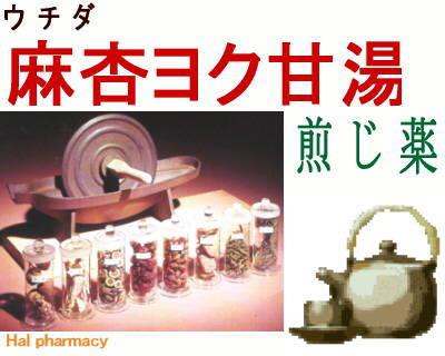 ウチダ 麻杏薏甘湯 煎じ薬