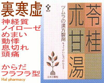 ツムラ漢方 苓桂朮甘湯 エキス顆粒